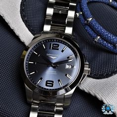 What's On Your Wrist? — Longines Conquest Automatic X StingHD…nautical...