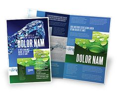 http://www.poweredtemplate.com/brochure-templates/nature/07546/0/index.html Blue Water Brochure Template