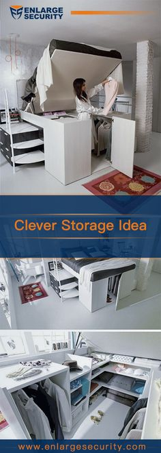 #storageideas Have a limited space and don't know where to store and put your things? Here are some clever storage ideas.