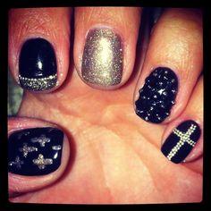 Goth nails!