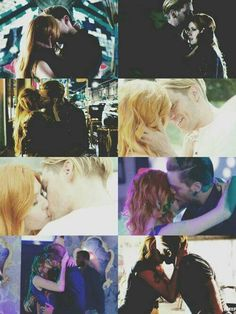 #Clace kisses moments