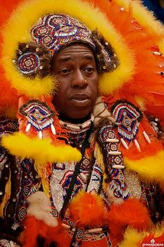 Mardi Gras Indians - New Orleans, Louisiana
