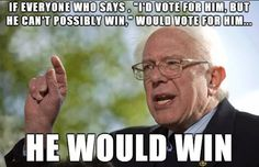 This is how he can win.. #FeelTheBern #BERVOLUTION