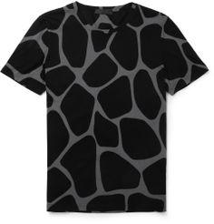 Burberry ProrsumGiraffe-Print Cotton-Jersey T-Shirt