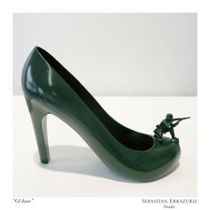 12 Shoes for 12 Lovers by Sebastian Errazuriz: Part 2 >> http://design-milk.com/12-shoes-12-lovers-sebastian-errazuriz-part-2/