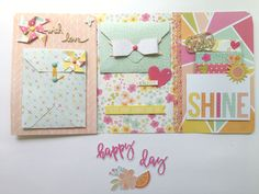 Mini Scrapbook Albums, Scrapbook Paper Crafts, Mini Albums, Pen Pal Letters, Diy Letters, Envelope Book, Snail Mail Pen Pals, Diy Crafts For Gifts, Happy Mail