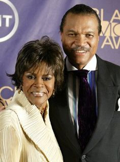 Cicely Tyson and Billy Dee Williams