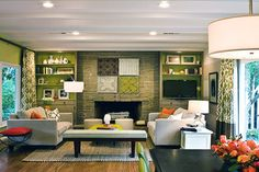 Square Living Room design tips
