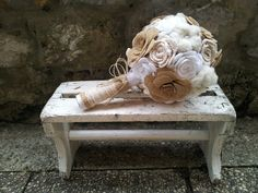 My Work Vintage Wedding Bouquet