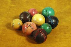 Leather juggling ball by EmCouros on Etsy
