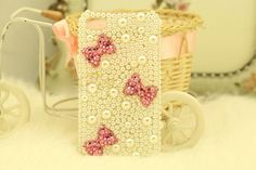 Iphone 4/4S case  pearl iphone case by lylord on Etsy, $17.99
