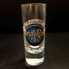 "Hard Rock Cafe Nashville 4"" Tall Shot Glass - BLUE"