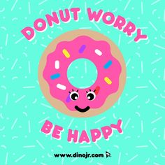 Donut forget to be happy! #NationalDonutDay