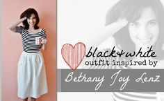 Outfit inspired by Bethany Joy Lenz