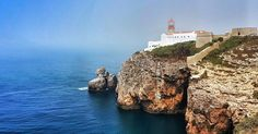 Lighthouse at the most south western point of Europe - - - #holiday #portugal #summer #nature #natural #fog #beach #landscape #view #camera #photo #photography #nofilter #perspective #photooftheday #picoftheday #igdaily #instagood #instadaily #instalike #pretty #beautiful #like4like #like #sun #sunrise #sunset #travel #wanderlust #galaxys8