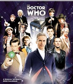 #DoctorWho Special Edition 2105 Wall Calendar!  Available at - http://amzn.to/1t61h8p