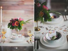 Artful Indoor Wedding Inspiration | Green Wedding Shoes Wedding Blog | Wedding Trends for Stylish + Creative Brides