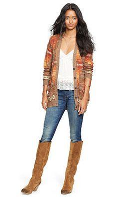 Sanford Skinny Jean - Denim & Supply  Leather - RalphLauren.com