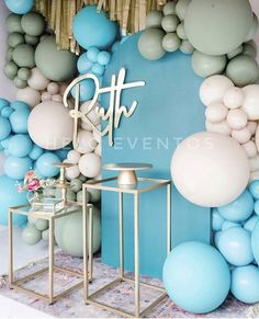 30th Birthday Themes, Baby Birthday, Birthday Party Decorations, Balloon Backdrop, Balloon Garland, Balloon Decorations, Angel Baby Shower, Baby Shower Deco, Its A Boy Balloons