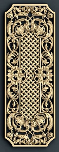 Decorative paneling spaces traditional with decorative metal sheets decorative screen Motif Arabesque, 3d Cnc, Cnc Wood, Carving Designs, Wow Art, Wood Design, Islamic Art, Wood Carving, Diy And Crafts