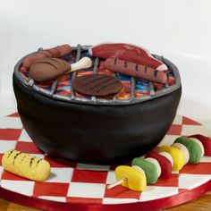 barbeque cake - Bing Images