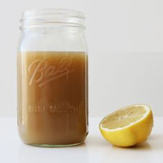 This soothing, three-ingredient lemon ginger brew is what you need when you're about to come down with a cold (but really don't want to).