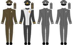 Star Trek Into Darkness dress uniforms