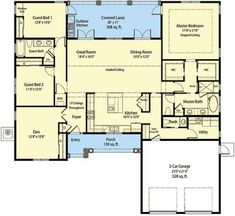 Energy Smart Home Plan with Spacious Great Room - 33141ZR | 1st Floor Master Suite, CAD Available, Den-Office-Library-Study, Florida, Mediterranean, Net Zero Ready, PDF, Split Bedrooms | Architectural Designs