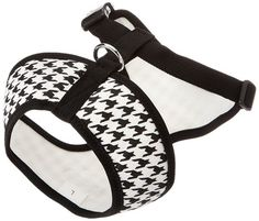 Parisian Pet Freedom Dog Harness, Large, Black Houndstooth ** You can get additional details at the image link.