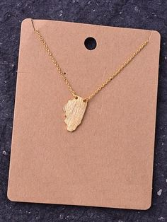 State Necklace - Illinois