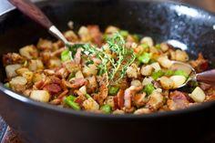 Broccoli Potato and Bacon Hash Recipe on Yummly