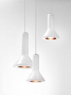 Brokis - Lights - Interior - Design - white.  WHISTLE by Lucie Koldova