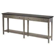 Large Westrow console by Currey and Company.