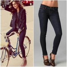 """J Brand 910 Ankle Skinny Jeans Gentle fading and light whiskering to create a worn look on these dark-rinse skinny jeans. Condition: Excellent- like new. Inseam: 29""""  98% cotton. 2% lycra. Style: Skinny Leg 910 Worn/ Cut # 1899 NO TRADES!! J Brand Jeans Skinny"""