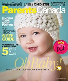Parents Canada cover with Henry