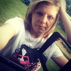 @mrsmanning2015 Reppin #JeepHer with Our #JeepHairDontCare tee shirt available at www.jeepbeef.com #jeepfreeks #Padgram
