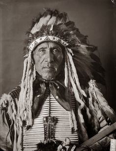 Yankton Sioux Chiefs | Yankton Sioux Indian Photographic Portraits