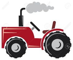 Tractor Cartoon Stock Vector Illustration And Royalty Free Tractor ...