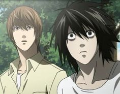 Death Note Light and L