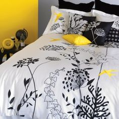 Duvet Set In Pure Cotton Sateen.  More info on Egyptian Cotton Sheets Sets at www.EazzyLiving.com