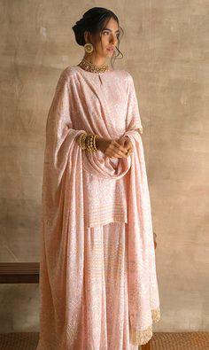 Anjul Bhandari | Sharara Sharara, Anarkali, Indian Jackets, Sari, Couture, Engagement, Suits, Elegant, Classic