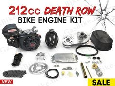 4 Stroke Bicycle Engine Kits For Your Motorized Bicycle Bicycle Engine Kit, Bike Kit, Bike Motor Kit, Predator, Gas Powered Bicycle, Cnc Parts, Motorised Bike, Motorized Bicycle, Pit Bike
