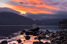 Lake Te Anau at dusk by Martin Sliva, New Zealand