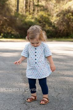 STITCHED by Crystal: Mulberry Tunic bf 5 Spots just like this compliments of Helen