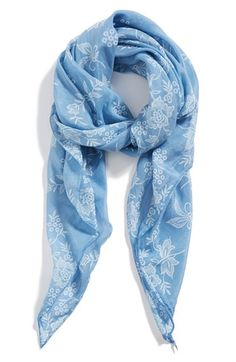Nordstrom 'Vintage Flower' Scarf available at #Nordstrom