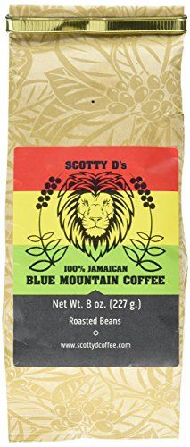 Scotty D's Jamaican Coffee Blue Mountain Coffee- (Medium Roast)(Whole Bean) 8 oz. Jamaican Coffee, Blue Mountain Coffee, Best Coffee, Drinking Tea, Coffee Beans, Gourmet Recipes, Roast, Medium, Ds