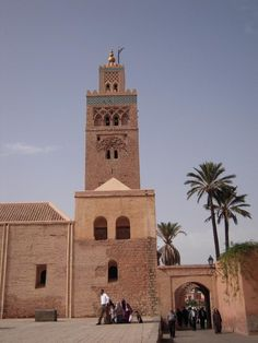 There's place for 25.000 in Koutoubia. Non-muslims are not allowed in.