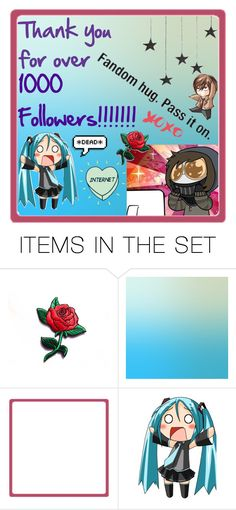 """""""THANK YOU!!!!!!!!!! (READ D)"""" by takemetothecookies ❤ liked on Polyvore featuring art"""