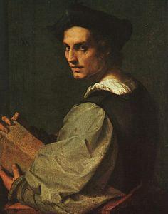 Andrea del Sarto - Portrait of a Young Man