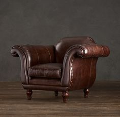 gentlementools:  Regency leather chair